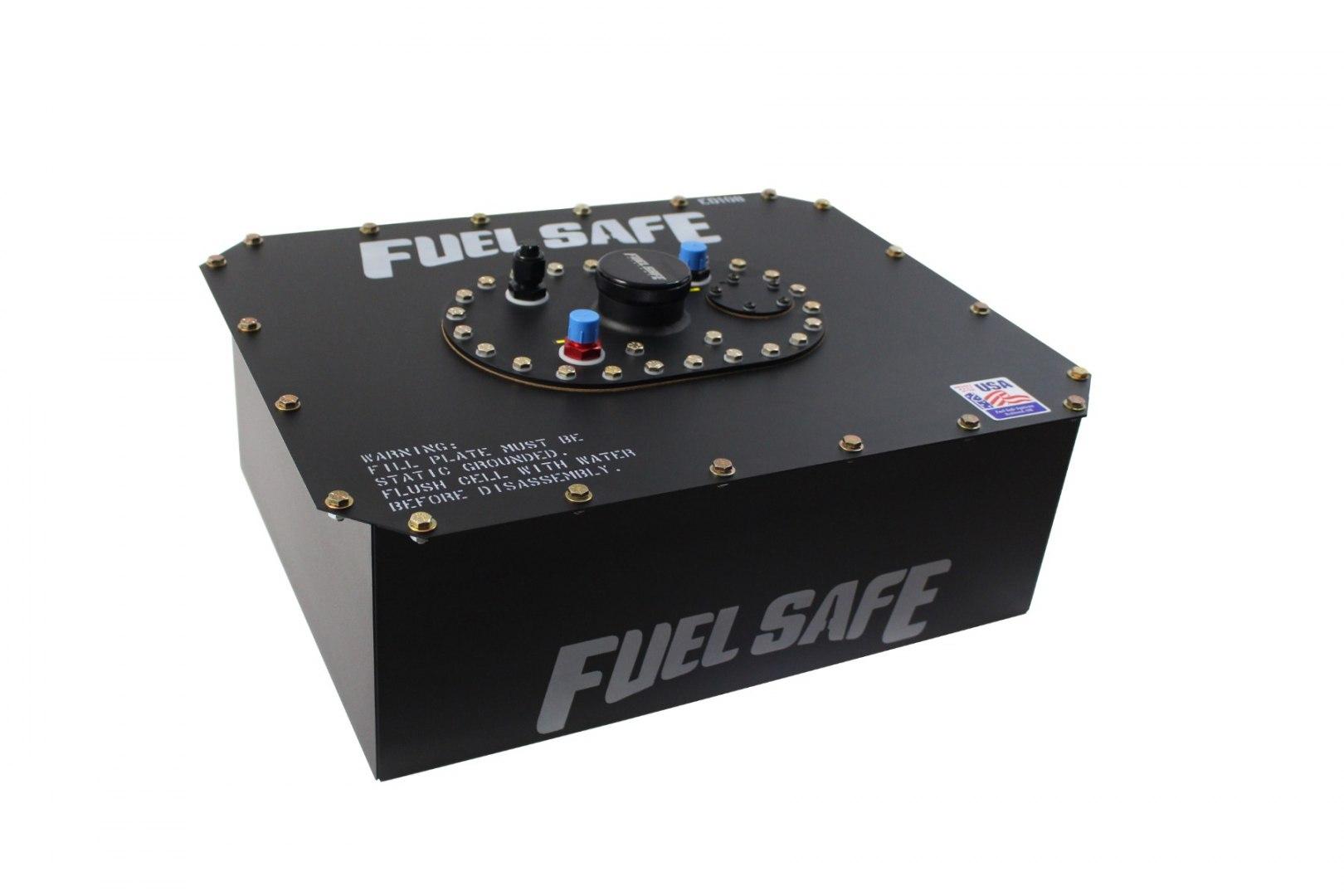 FuelSafe Zbiornik Paliwa 30L FIA z obudową stalową - GRUBYGARAGE - Sklep Tuningowy